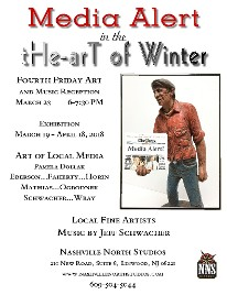 Media in tHe-Art of Winter at Nashville North Studios