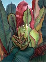 Heliconia No. 1 Painting, (Bird of Paradise) from Fairchild Garden Greenhouse, Miami, Florida, by American Nature Painter, Judith A. Maddox Saylor.