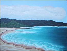 Maui No. 1, a painting by American Nature Painter, Judith A. Maddox Saylor at JAMS Artworks.