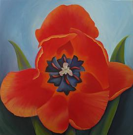 Red Tulip, No. 4, JAM Saylor